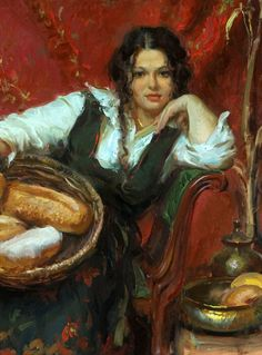 Beautiful Women Paintings by Daniel F. Gerhartz. Part 1 - AmO Images - AmO Images
