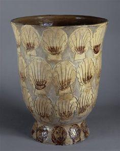 Raoul Dufy - Seashell Vase, National Museum of Ceramics, Sveres, France. Paris Exposition 1925.