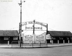 Greyhound stadium 1958, Belle Vue, Manchester.