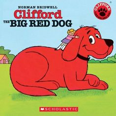 I Love Books, Books To Read, Clifford Books, Spanish Books For Kids, Norman Bridwell, Dog Books, Baby Books, Red Dog, Paperback Books