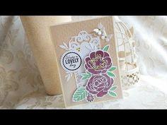Tonic Studios Craft Kit 39 - YouTube Craft Kits, Studios, Peonies, Cards, Scrap, Pretty, Youtube, Ideas, Maps
