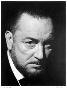 Pierre Brasseur (1905-1972) - Photo Hubert Grooteclaes