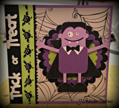 Childrens Halloween Card - Dracula