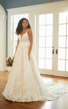 This lace wedding dress from Martina Liana is a dream come true! ☁️ Beautiful lace details and luxurious fabric. Repin This Look to your dream wedding dress board!💕// www.martinaliana.com Lace Wedding Dress, Dream Wedding Dresses, Designer Wedding Dresses, Bridal Dresses, Wedding Gowns, Modest Wedding, Lace Weddings, Boho Wedding, Summer Wedding