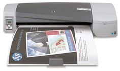 HP Designjet 111 24-in Printer with Tray (CQ533A): Wondering how to print oversized assignments on a small budget? HP has an ideal solution that lets you easily, conveniently, and affordably get the job done. It's the HP Designjet 111 Printer series—your all-purpose, high-quality printing solution.