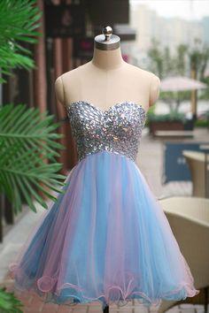 Bg153 Charming Homecoming Dress,Chiffon Homecoming Dress,Beading Homecoming Dresses,Short Homecoming Dress,Graduation Dress 2016