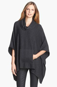 Eileen Fisher Funnel Neck Poncho available at #Nordstrom