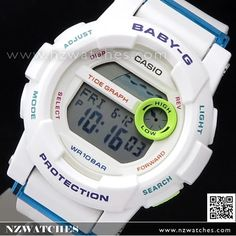 73ab31a14796 Casio Baby-G G-Lide Moon Tide Graph Sport Watch BGD-180FB-7