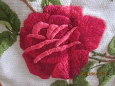 Antique Hand-Embroidered Mission Arts and Crafts by angelinabella