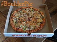 The Boulder Pie at Denver Pizza Company