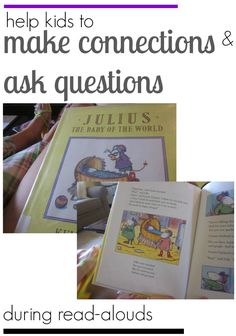 Kevin Henkes and learning during read-alouds: making connections and questioning Reading Lessons, Kids Reading, Reading Skills, Teaching Reading, Guided Reading, Learning, Improve Reading Comprehension, Reading Strategies, Reading Activities
