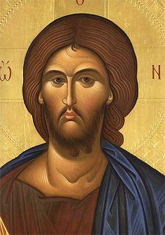 Clarisse S. Byzantine Icons, Son Of God, Orthodox Icons, Jesus Christ, Christianity, Mona Lisa, Artwork, Photography, Painting