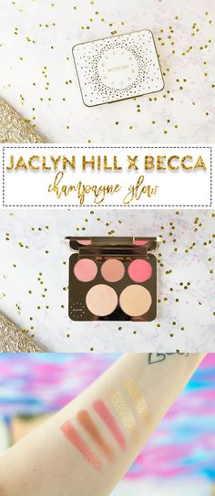Jaclyn Hill X Becca Champagne Collection Face Palette & Swatches