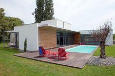 4. Une maison contemporaine à ossature bois