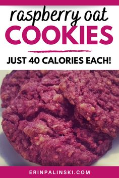 These healthy raspberry cookies are the healthy cookie recipe you need in your life! Try this delicious recipe for raspberry, yogurt, and oat cookies.