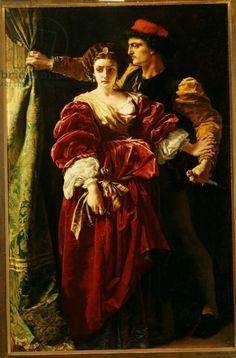 Lucrezia Borgia, 1863 (oil on canvas)