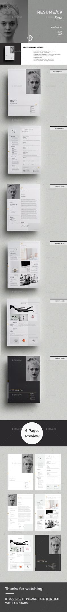 Beta Resume Template 3014 best Resume Templates
