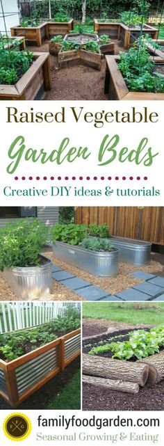 Raised Garden Bed Ideas Plans Raised Garden Bed Ideas Plans Lots Of Diy Raised Garden Bed Ideas And Tutorials So You Can Design And Build Your Dream Raised Vegetable Garden Beds Raised Garden Bed Plans Raised Vegetable Garden Beds Ideas Cheap Raised Garden Beds, Raised Garden Bed Plans, Building Raised Garden Beds, Raised Flower Beds, Backyard Vegetable Gardens, Vegetable Garden Design, Raised Beds, Vegetable Ideas, Garden Landscaping