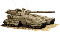 The future abram tank by ~Superbomber5 on deviantART. Awesome quad track!