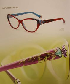 The latest exotic eyewear discovery we ve found is Coco Song Eyewear that  has an incredible fusion of eastern elegance and Italian design. 54f11e6984