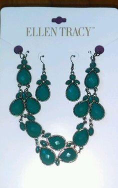 Brand new ellen tracy earring and necklace set | Jewelry & Watches, Fashion Jewelry, Jewelry Sets | eBay!