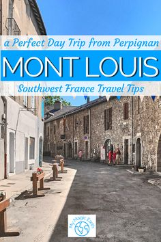 Mont-Louis-La-Cabanasse is the smallest hilltop town in French Pyrenees. It is also the birthplace of the the first modern solar furnace. | Things to do in Mount Louis |Southwest France travel tips | France Travel Guide | French Pyrenees | Yellow Train | Mont-Louis-La-Cabanasse #法国 #France #hiking #frenchriviera #pyrenees #hiking #familytravel #instagrammableplace #yellowtrain # montlouis Europe Travel Outfits, Europe Travel Guide, Travel Guides, Paris Travel, France Travel, France Destinations, Castles To Visit, Day Trip From Paris, France Photography