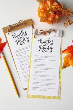 Thanksgiving Triva