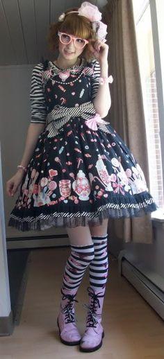 Asphodel Carousel. Sweet lolita. Japanese fashion. kawaii