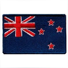 Airsoft Velcro Patch New Zealand Flag