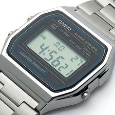 Casio Retro Digital Unisex Watch Original Factory New Digital Silver. Casio Wristwatch second digital stopwatch. My Childhood Memories, Childhood Toys, Sweet Memories, Good Old Times, The Good Old Days, Vintage Toys, The Past, Old Things, The Originals