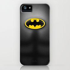 DC Comics Series - Batman Suit iPhone & iPod Case by RobozCapoz - $35.00