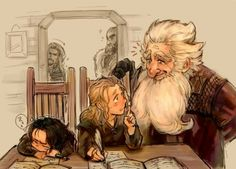 I love love love this! Look at little Kili!