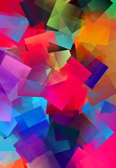 Simple Cubism Abstract 38 Print by Chris Butler.  All prints are professionally…