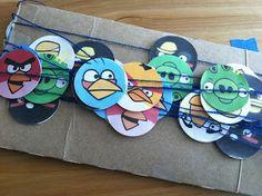 The Contemplative Creative: Angry Birds Garland