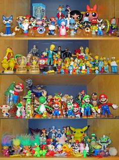People with thear toy collections   toy collection shelf display   Flickr - Photo Sharing!
