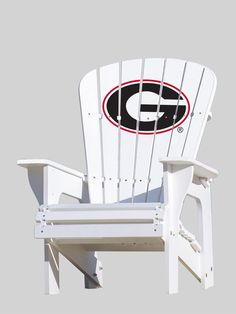 The Georgia Bulldogs Adirondack Chair is commercial-quality and offers a comfortable and stylish seating solution for use by the pool, near the fire pit, on the porch, while tailgating, or virtually a
