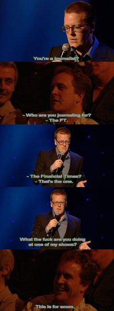 Journalist Frankie Boyle, Mock The Week, Hilarious, Funny, Comedians, Ecards, Comedy, Jokes, Cool Stuff