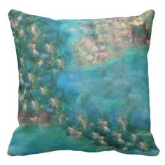 Blue Meadows Designer Art Throw Pillow Exquisitely gorgeous, you will LOVE our chic Stunning Blue Meadows Designer Art Collection. This whimsical artist collection features a stunning color palette inspired by the lush gardens of the English Country-side. Perfect as a gift or especially for you! Our Magnificent Blue Meadows Designer Art Collection is designed by artist Marie-Jose Pappas of Innocent Originals.