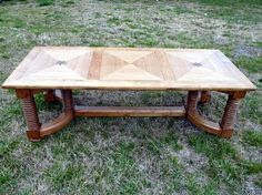 Norwegian Dining table in Northern Pine.  Hand made the old fashion way. Perfectly aged. Rare , bold, heavy.  90'' x 40 ''  Seats 8 +     For sale @ $2500.00
