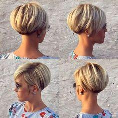 60 Chic Short Bob & Haircuts for Women, 60 Chic Short Bob Hairstyles & Haircuts for Women Girls Short Haircuts, Short Hairstyles For Women, Hairstyles Haircuts, Cool Hairstyles, Hairstyle Ideas, Hair Ideas, Hairstyle Short, Asymmetrical Hairstyles, Fringe Hairstyles