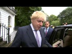 Who will be the new prime minister? Boris Johnson leaves his home on cjn...