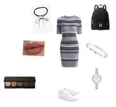 """""""Everyday outfit."""" by andreea2015 on Polyvore featuring adidas Originals, MICHAEL Michael Kors, Azalea, Cartier and Kate Spade"""