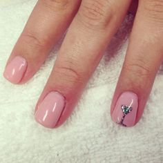 cute idea for 21st birthday nails