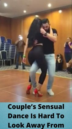 #Couple's #Sensual Dance Is #Hard To Look #Away From