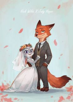 Nick Wilde x Judy Hopps | Zootopia | Pinterest | Suits, Ships and ...