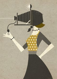Photographic Memory by Zara Picken http://zaraillustrates.carbonmade.com/