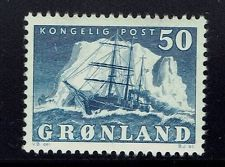 Greenland SC# 35 - Mint Hinged -  Lot 011016