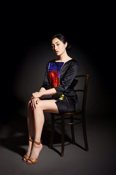 Collaborated with Ansella Post for web magazine Voix Meets Mode Footwear pieces: Maya Nishimura