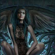 Ange noir sexy