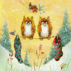 owls by Jan Pashley